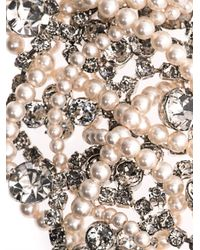 Tom Binns | White Grande Dame Pearl Crystal Necklace | Lyst