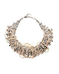 Tom Binns | White Grande Dame Pearl Crystal Necklace | Lyst