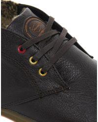 Onitsuka Tiger - Brown Shearling Chukka Boots for Men - Lyst