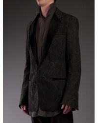 Haider Ackermann - Black Distressed Jacket for Men - Lyst