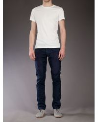 Jeckerson - Blue Chino Trouser for Men - Lyst