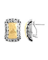 John Hardy | Metallic Hiway Palu Earrings | Lyst