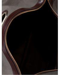 Kolor - Gray Fishnet Detail Shoulder Bag - Lyst
