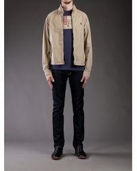 Polo Ralph Lauren | Natural High Neck Jacket for Men | Lyst