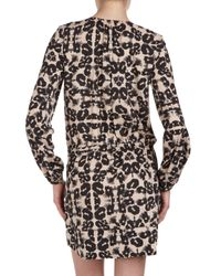 Rebecca Taylor - Multicolor Leopardprint Tunic 2 - Lyst