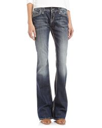 Rock Revival - Blue Elaina Bootcut Jeans 31 - Lyst