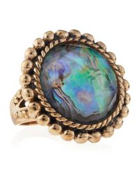 Stephen Dweck | Blue Abalonerock Crystal Ring 8 | Lyst