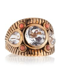 Stephen Dweck | Metallic Coral Wide Engraved Band | Lyst