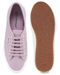Superga Purple Cotu Classic Trainer