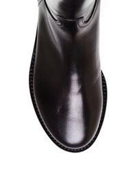 Ann Demeulemeester - Black Vietello Lucido Tall Boot - Lyst