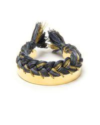Aurelie Bidermann | Metallic 'copacabana' Bracelet | Lyst