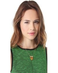 House of Harlow 1960 - Metallic Interlude Necklace - Lyst