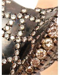 Ileana Makri   Metallic 18k Pink Gold and Champagne Diamond Bow Ring   Lyst