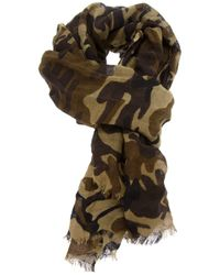 Polo Ralph Lauren | Green Camouflage Print Scarf for Men | Lyst