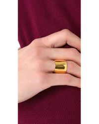 Tom Binns - Metallic Classic Cigar Ring - Lyst