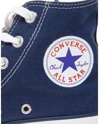 Converse | Blue All Star Hi Plimsolls for Men | Lyst
