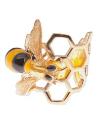 Delfina Delettrez - Yellow To Bee Or Not To Be Ring - Lyst