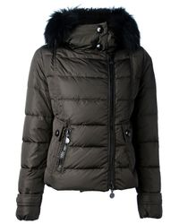 Moncler | Black Down Jacket | Lyst