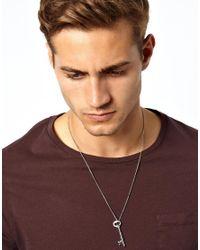Simon Carter - Metallic Key Neckchain for Men - Lyst