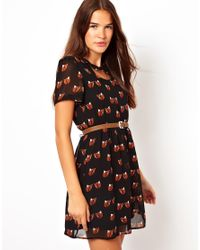 Sugarhill | Brown Foxy Dress | Lyst