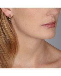 Astley Clarke - Yellow Diamond Double Hoop Earrings - Lyst