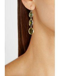 Pippa Small | Green 18karat Gold Tourmaline Earrings | Lyst