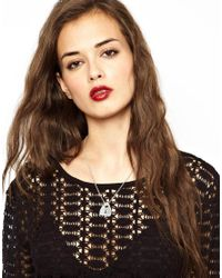 Playful Promises | Metallic Bloody Mary Hail Planchette Necklace | Lyst