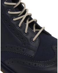 Dr. Martens - Blue Brogue Boots for Men - Lyst