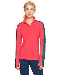 Gap - Red Gapfit Halfzip Training Jacket - Lyst
