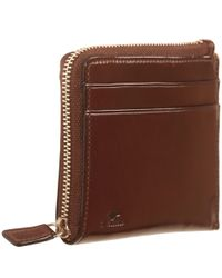 Il Bussetto - Brown Leather Zip Wallet for Men - Lyst