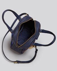 Marc By Marc Jacobs - Blue Satchel Plaid Clover - Lyst