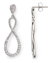 Nadri - Metallic New Basics Figure Eight Earrings - Lyst
