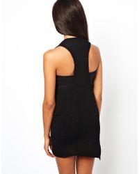 Shae - White Linen Blend Sleeveless Dress - Lyst