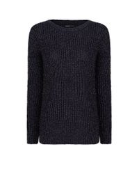 Mango | Blue Fine-knit Sweater | Lyst