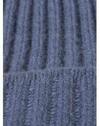 Acne Studios - Purple Miles Beanie Hat for Men - Lyst