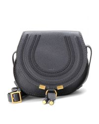 Chloé - Black Marcie Small Leather Shoulder Bag - Lyst