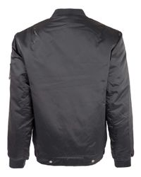 Our Legacy | Metallic Silver Nylon Bomber Jacket for Men | Lyst