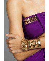 Trina Turk | Metallic Pierced Bangle | Lyst