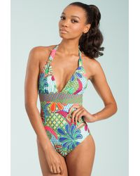 Trina Turk - Multicolor Zanzibar One Piece - Lyst