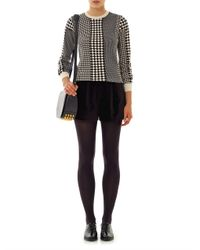 YMC   Black Velvet Shorts   Lyst