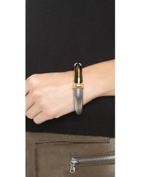 Eddie Borgo - Metallic Horn Bracelet - Lyst