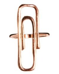 Gorjana - Pink Raul P For Paperclip Ring - Lyst