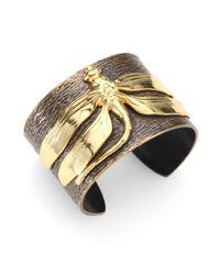 Iam By Ileana Makri | Metallic Dragonfly Cuff Bracelet | Lyst