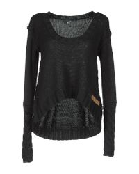 Just Cavalli | Black Sweater | Lyst