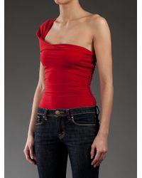 Lanvin - Red Swimming Costume - Lyst