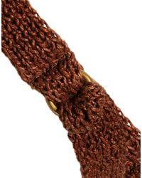 Ralph Lauren   Brown Contoured Leather Trench-buckle Belt Camel   Lyst