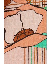 ROKSANDA | Pink Crepe Print Harris Top | Lyst