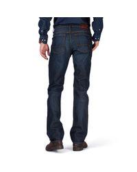 tommy hilfiger mercer regular fit jeans in blue for men. Black Bedroom Furniture Sets. Home Design Ideas
