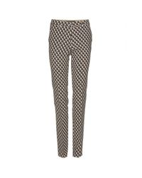Etro | Natural Tailored Print Trousers | Lyst