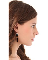 Kelly Wearstler - Black Gritti Earrings - Lyst